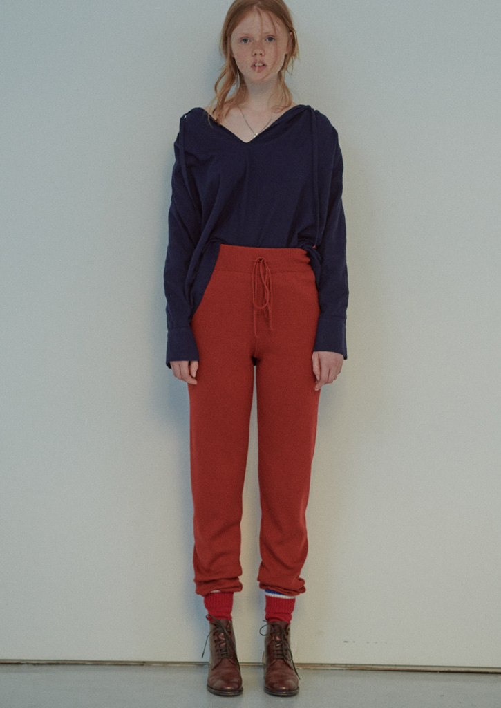 (SALE30%)via Billy jogger pants_Brick