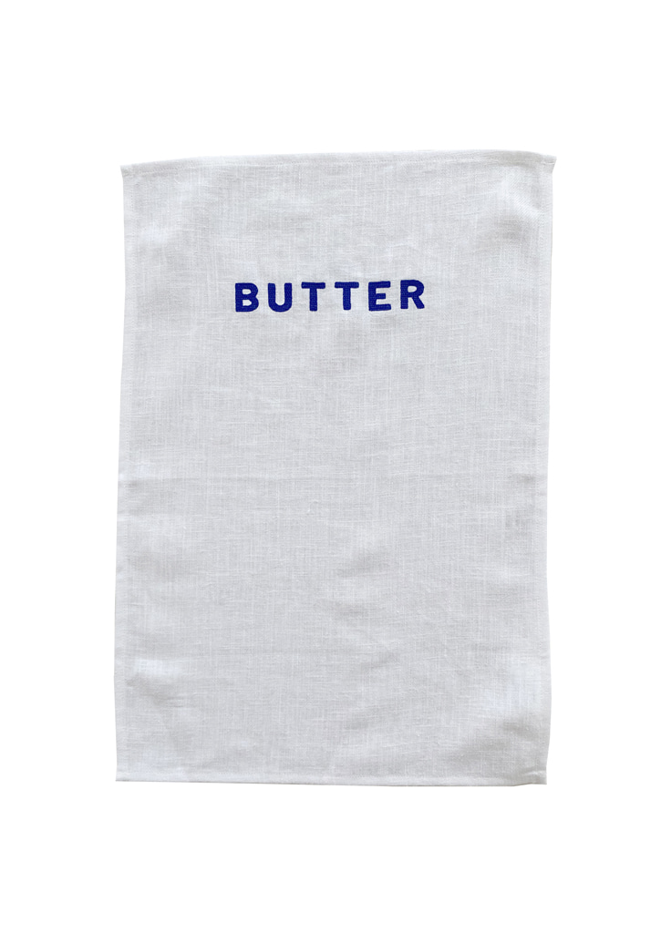 [vegetable flower studio] Table mat_butter