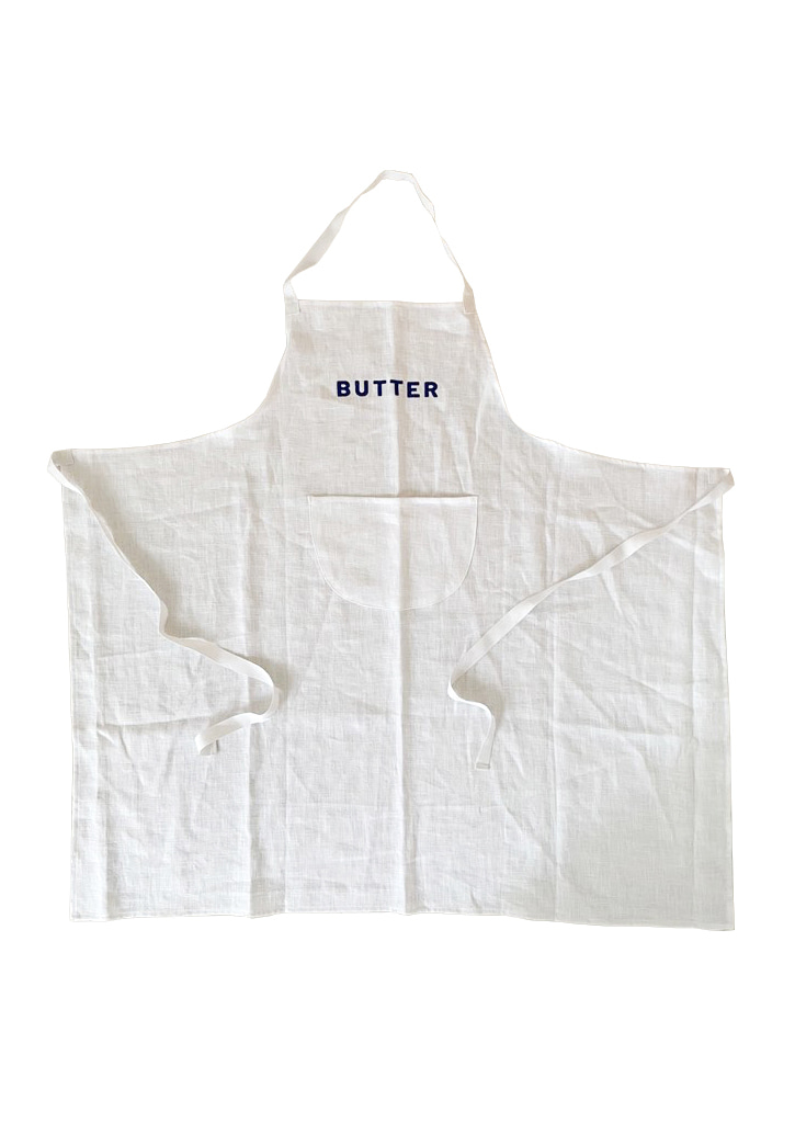 [vegetable flower studio] Apron_Butter