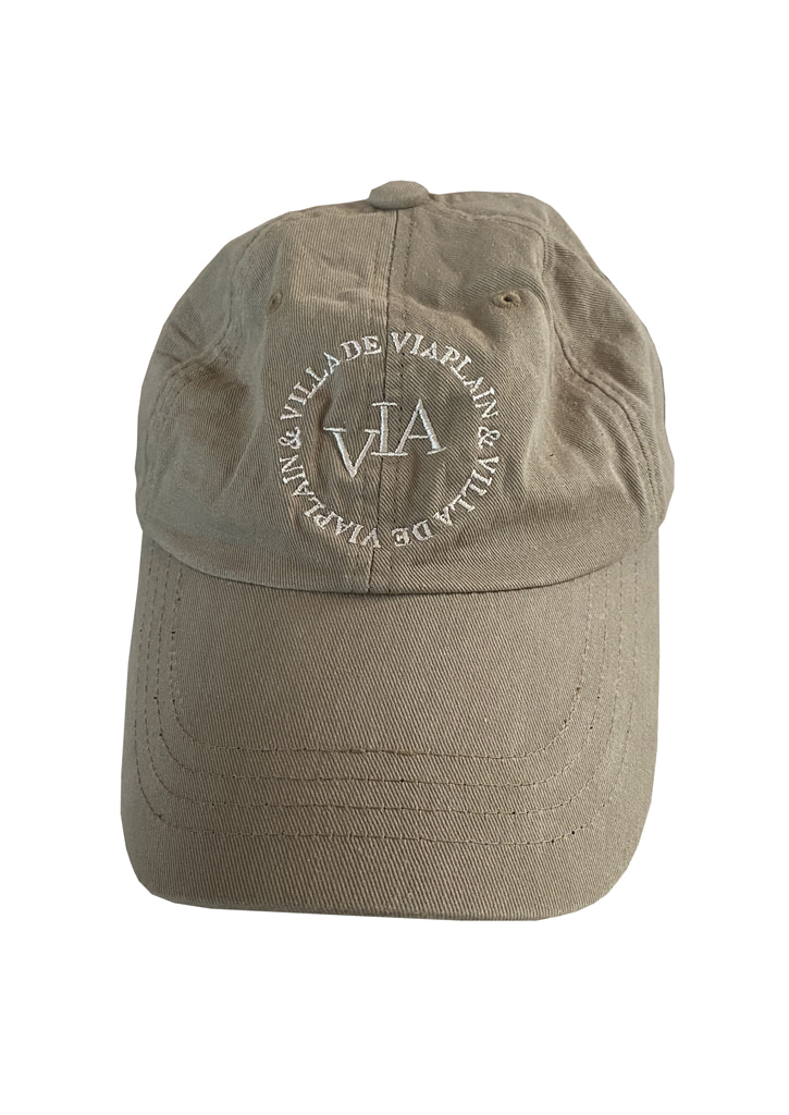 Via edition ball cap_beige