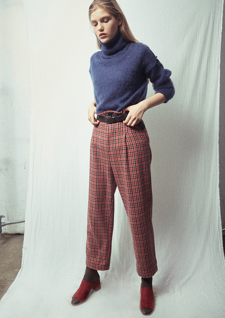 (SALE 30%)via Check Pegged Pants