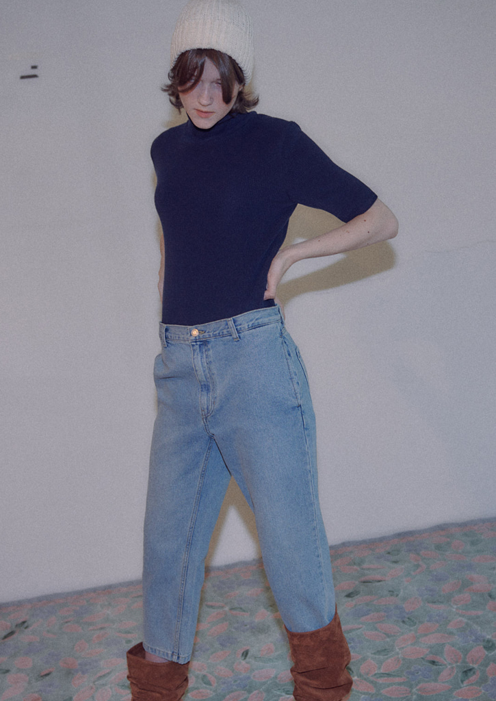 via Classic cropped jeans
