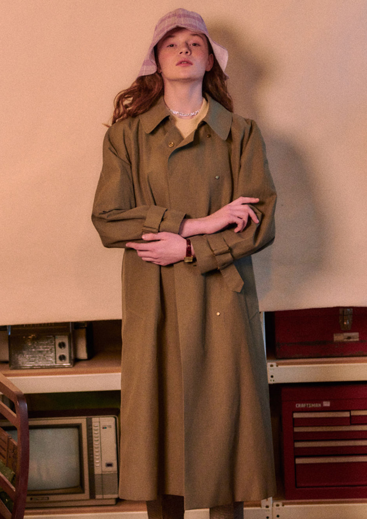 Via Paulline trench Coat