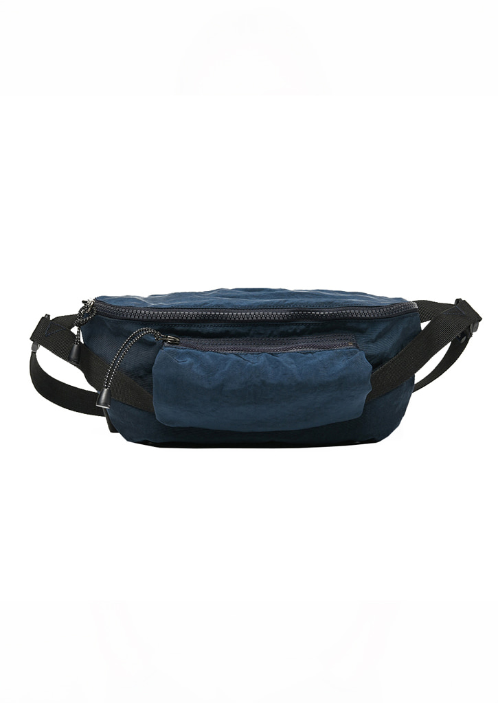 [BENSIMON X viaplain] Waist Bag_Navy