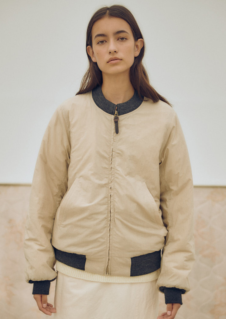 Via Alan wind breaker_beige