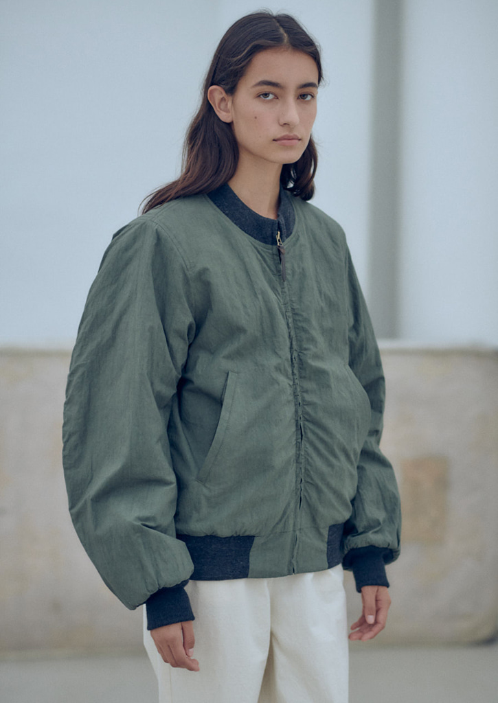 Via Alan wind breaker_khaki