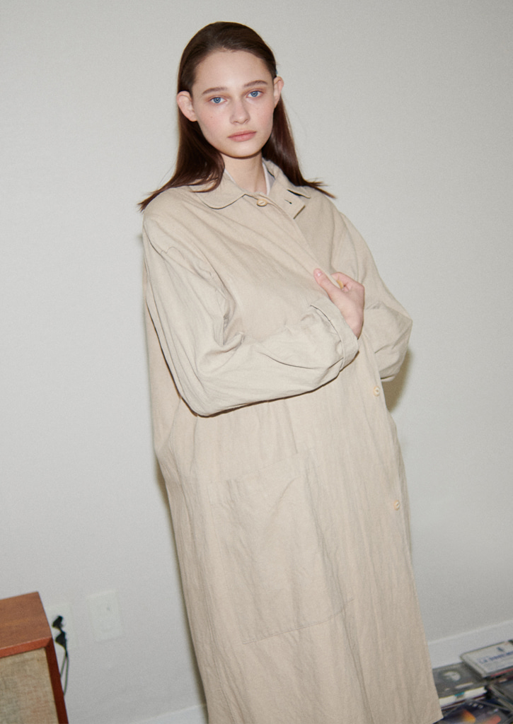Via Manon trench coat_beige